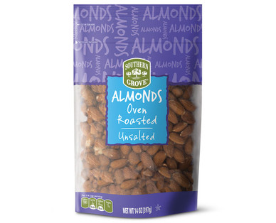Southern Grove Oven Roasted Unsalted Almonds