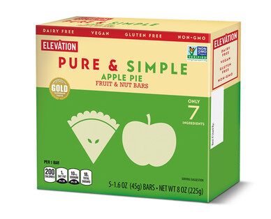 Elevation Apple Pie Pure & Simple Bars