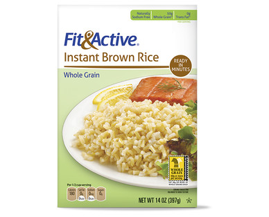 Fit and Active Instant Brown Rice