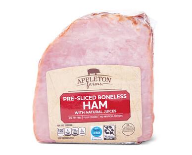 Appleton Farms Quarter Boneless Original Sliced Ham