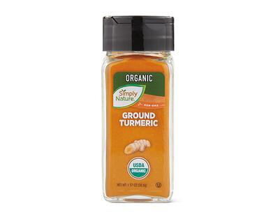 Simply Nature Organic Ground Turmeric