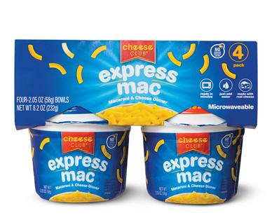 Cheese Club Express Mac Cups 4pk