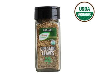 Simply Nature Organic Oregano Leaves