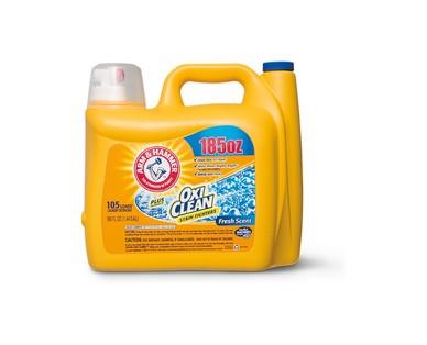 Arm & Hammer plus Oxi Clean Laundry Detergent View 1