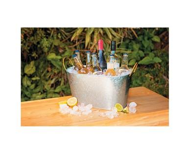 Crofton Galvanized Tray or Beverage Tub View 5