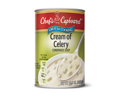 Chef's Cupboard Condensed Cream of Celery Soup