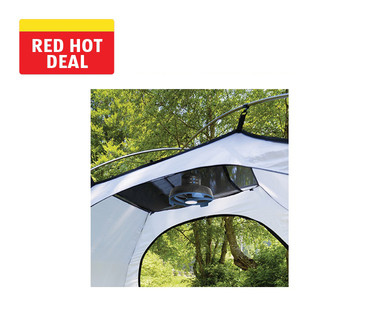 Adventuridge Lighted Tent Fan with Remote Control View 2