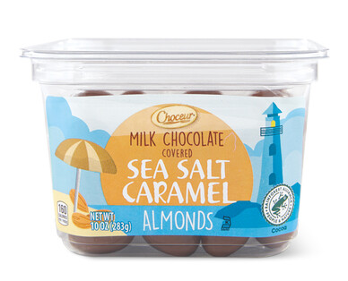 Choceur Milk Chocolate Sea Salt Caramel Almonds