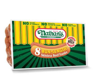 Nathan's Bun Length Hot Dogs