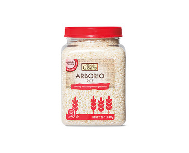 Earthly Grains Arborio or Harvest Blend Rice View 1