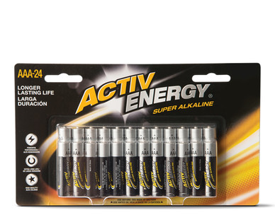 Activ Energy 24 Pack AAA Batteries