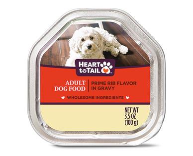 Heart to Tail Prime Rib Dog Entree
