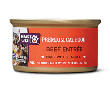 Heart to Tail Beef Cat Food