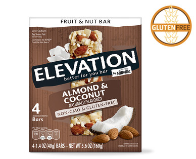 Elevation Almond Coconut Fruit and Nut Bars