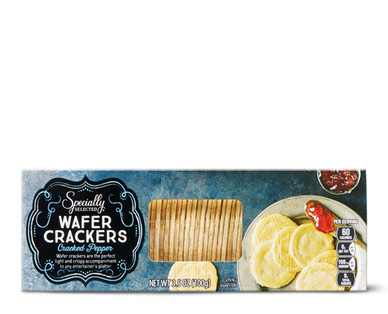 Specially Selected Cracked Pepper Wafer Crackers
