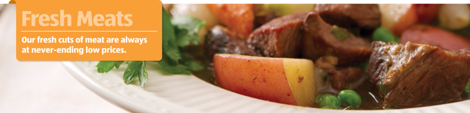 Our high quality fresh meats are always at low prices.