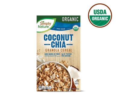 Simply Nature Organic Coconut and Chia Granola