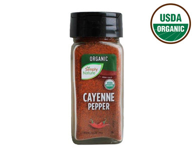 Simply Nature Organic Ground Cayenne
