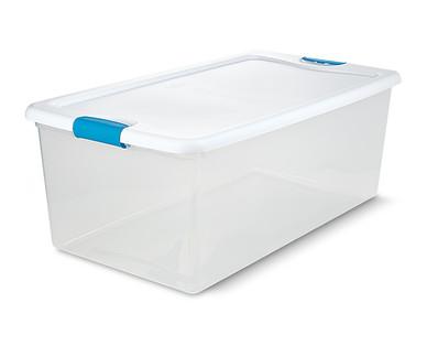 Easy Home 106-Quart Latching Box View 3