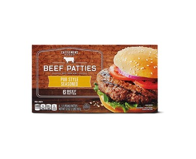 Cattlemen's Ranch Prime Rib or Pub Style Seasoned Burgers View 2