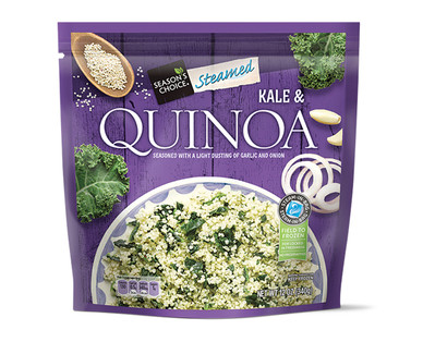 Season's Choice Steamed Kale and Quinoa