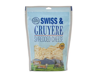 Emporium Selection Swiss & Gruyere Shredded Cheese