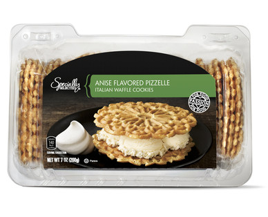 Specially Selected Anise Pizzelle Cookies