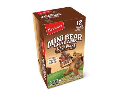 Benton's Chocolate Mini Bear Grahams Snack Packs