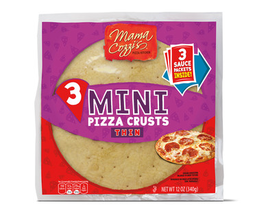 Mama Cozzi's Mini Pizza Crusts Thin