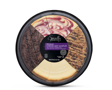 Specially Selected Cheesecake Sampler