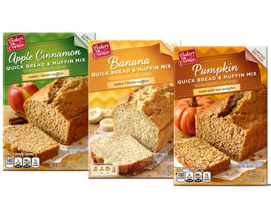 Baker's Corner Quick Bread Mix Assorted Varieties