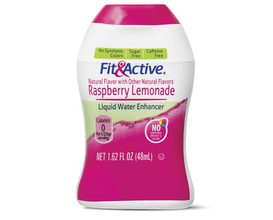 Fit and Active Raspberry Lemonade Liquid Water Enhancer