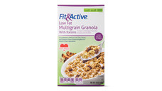 Fit and Active Low Fat Raisin Granola