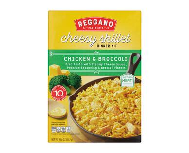 Reggano Cheddar Broccoli Cheesy Skillet Dinner