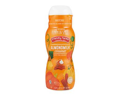 Friendly Farms Pumpkin Spice Almondmilk Creamer