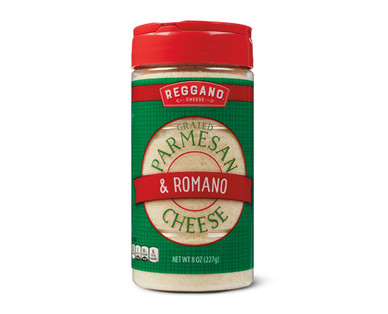 Reggano Parmesan and Romano Cheese