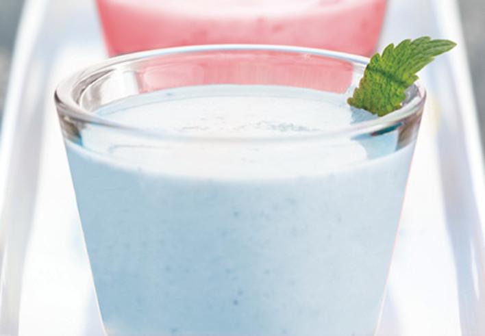 Blueberry Coconut Avocado Smoothie