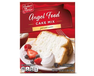 Baker's Corner Angel Food Cake Mix