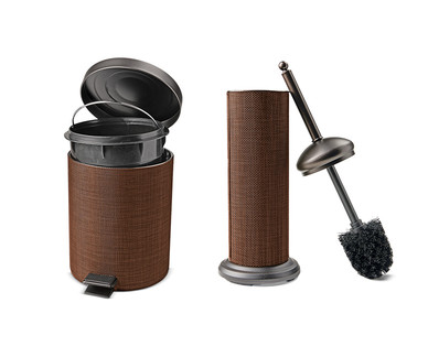 Easy Home Decorative Waste Bin or Toilet Brush View 2