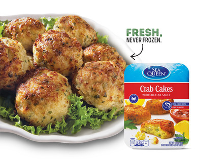 Sea Queen Chilled Crab Cakes
