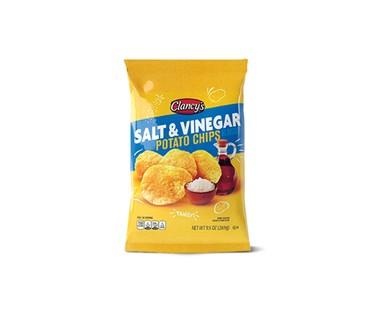 Clancy's Salt & Vinegar Potato Chips View 1