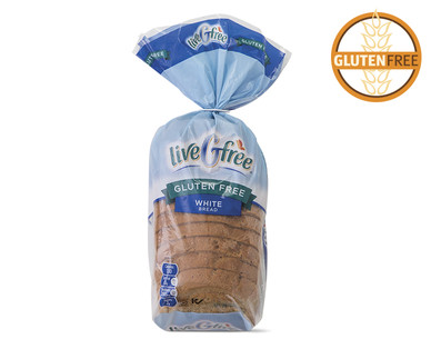 liveGfree Gluten Free White Bread