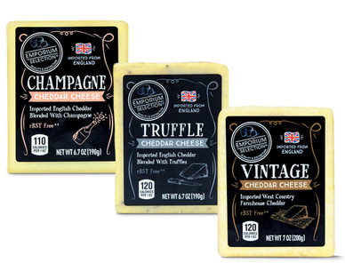 Emporium Selection Premium English Cheddar Assortment