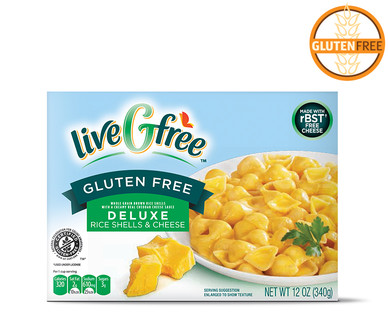Gluten Free Deluxe Shells and Cheese