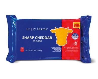 Happy Farms Sharp Cheddar Cheese