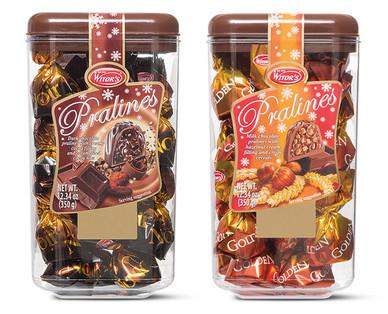 Witor's Pralines Dark or Milk Chocolate