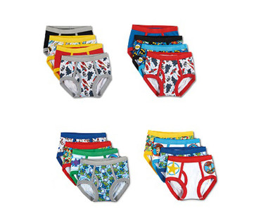 Toddler Boys' 8 Pack or Girls' 10 Pack Character Underwear View 5