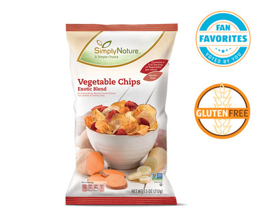 Exotic Vegetable Chips