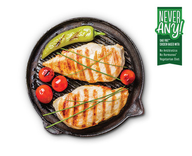 Never Any! Fresh ABF Thin Sliced Chicken Breasts