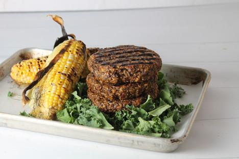 Grillable Vegan Burger Patty